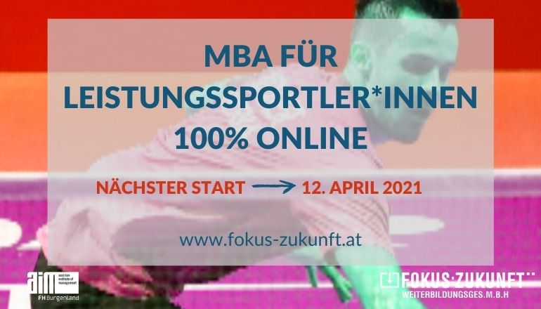 MBA Business Administration & Sport